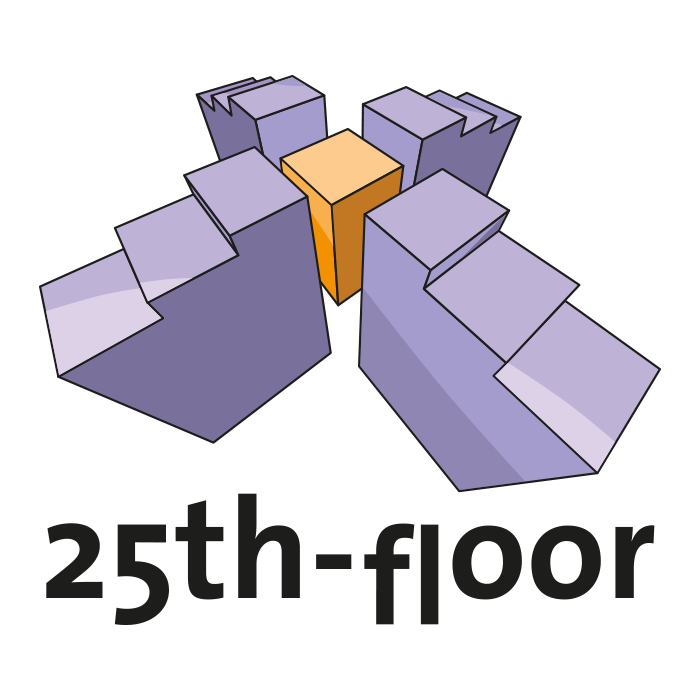 25th Floor – Pixelflüsterer professionelles Logo Design aus Wien.