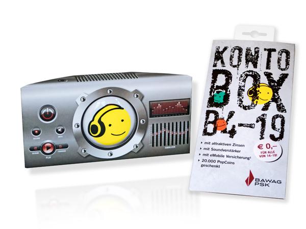 BAWAG P.S.K. B4-19 Kontobox