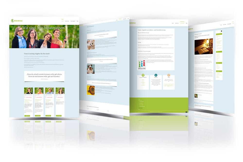 die beraterinnen – Pixelflüsterer professionelles Web Design nahe Wien