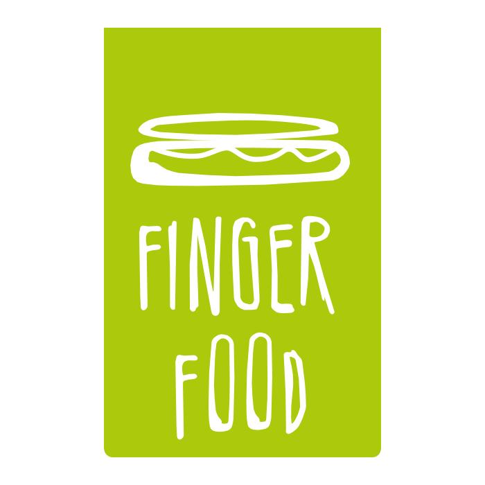 Fingerfood – Pixelflüsterer professionelles Logo Design aus Wien.