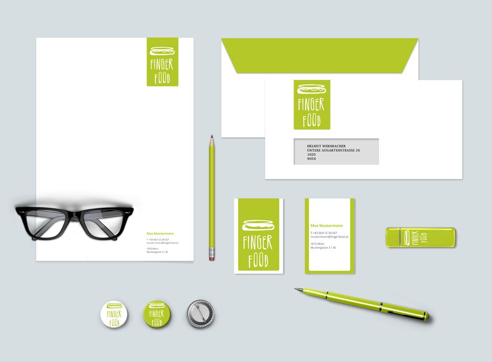Fingerfood – Pixelflüsterer professionelles Corporate Design aus Wien.