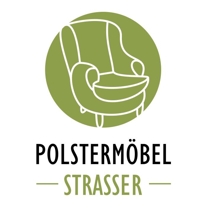 Polstermöbel Strasser – Pixelflüsterer professionelles Logo Design aus Wien.