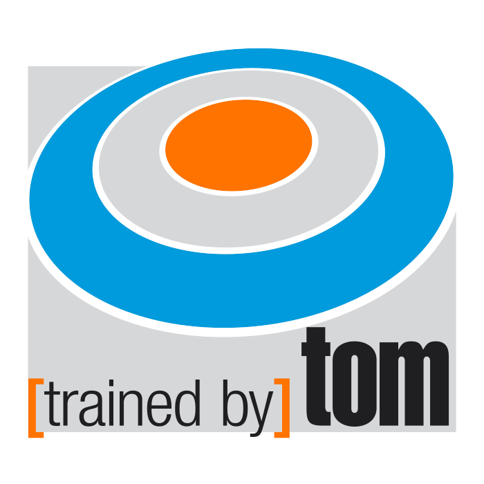 trained by Tom – Pixelflüsterer professionelles Logo Design aus Wien.