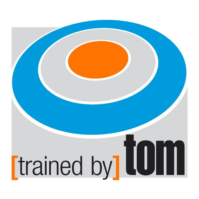 trained by Tom – Pixelflüsterer professionelles Logo Design aus Wien.