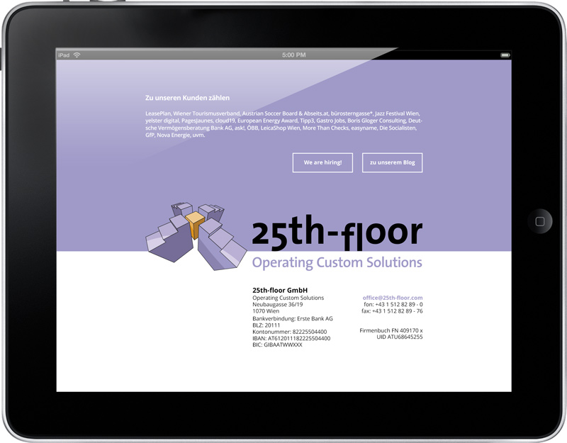 Website 25thfloor