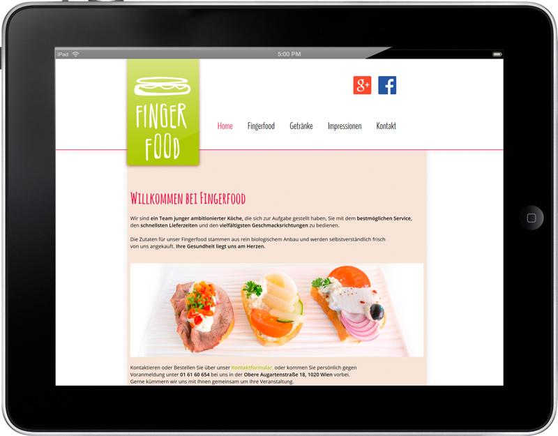 Website Fingerfood