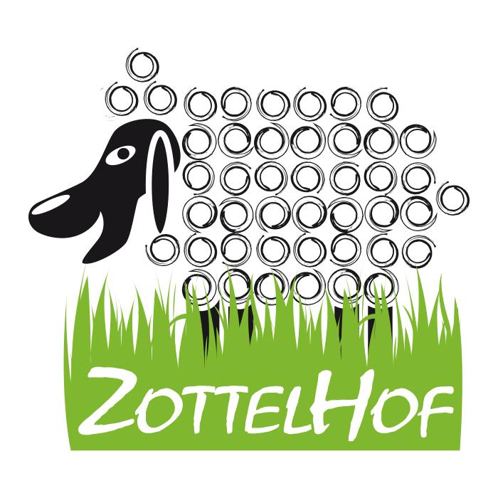 Zottelhof Schaf – Pixelflüsterer professionelles Logo Design aus Wien.