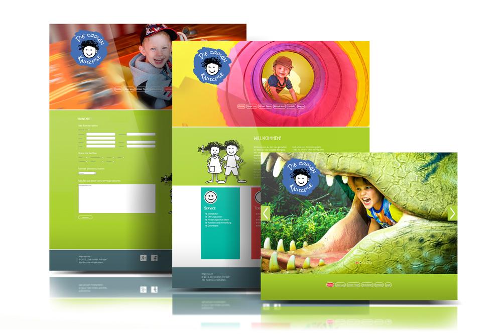 Die coolen Knirpse – Pixelflüsterer professionelles Web Design aus Wien