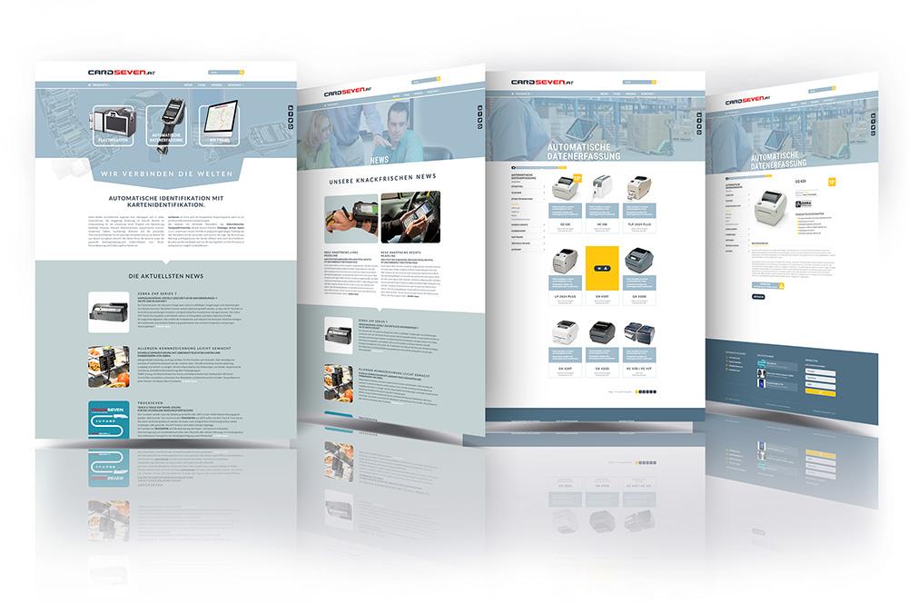 cardseven – Pixelflüsterer professionelles Web Design nahe Wien