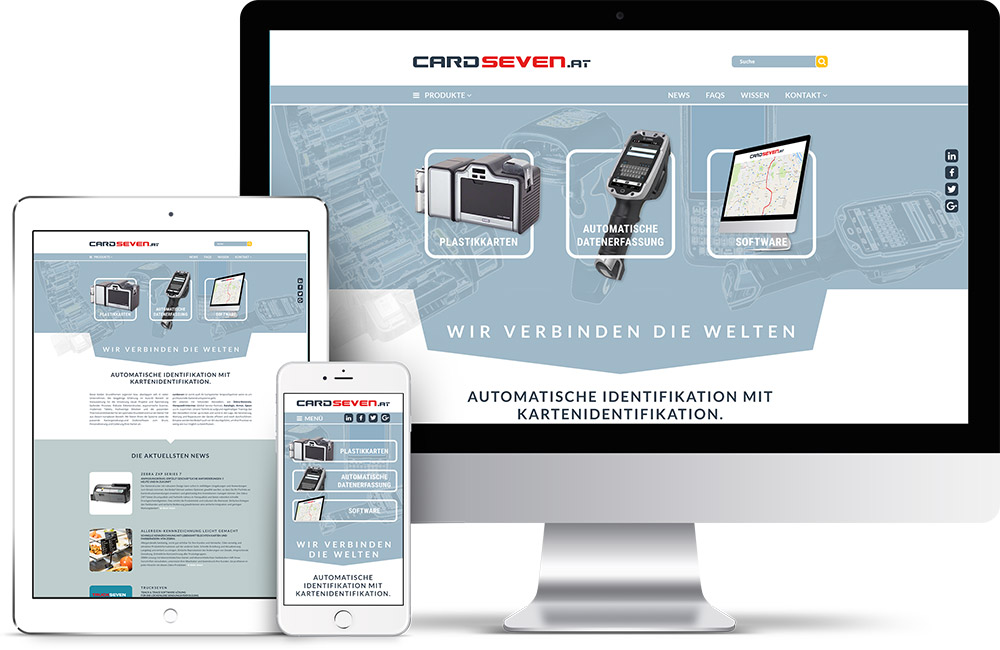 cardseven – Pixelflüsterer professionelles Screen Design aus Wien