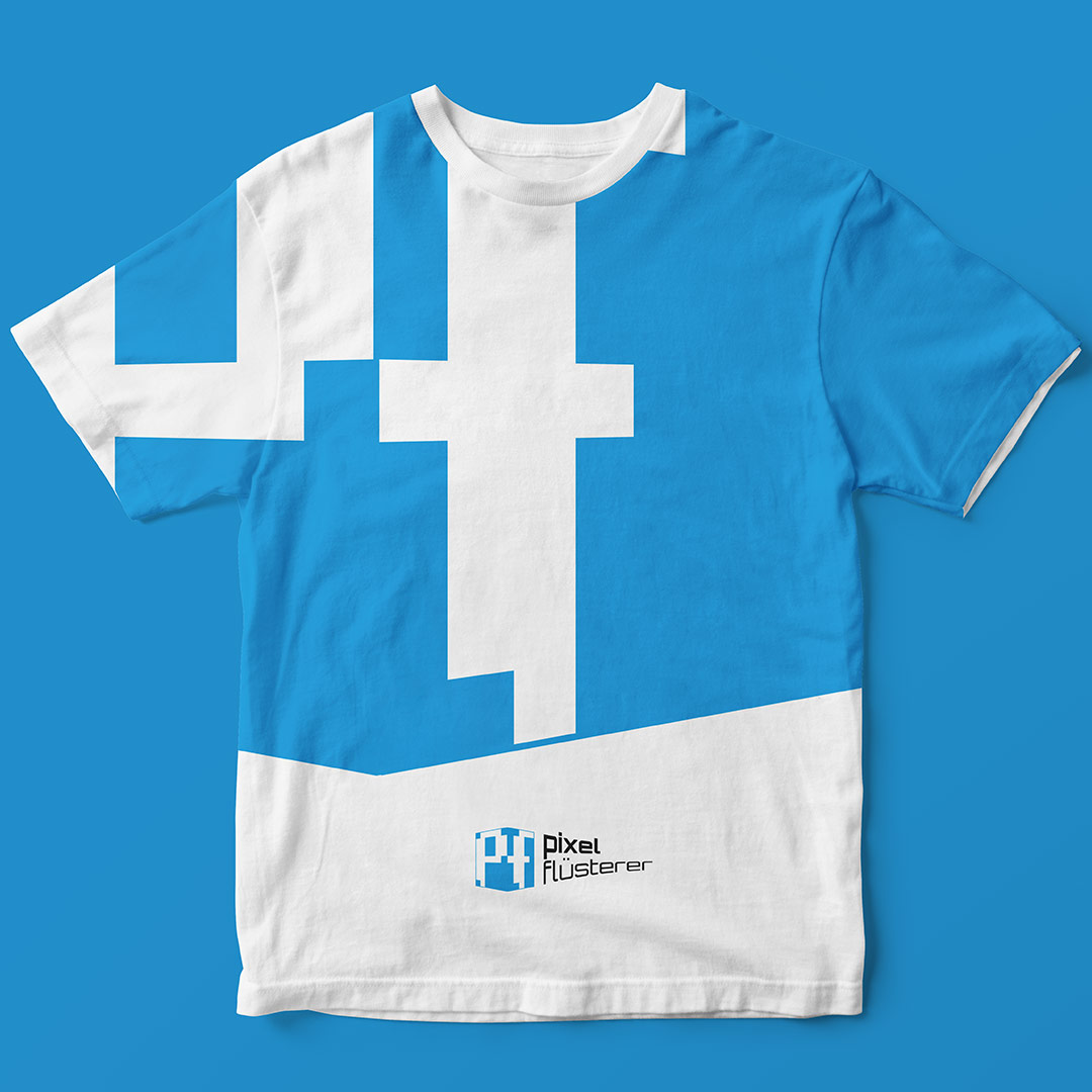 T-Shirt Logo Design Pixelflüsterer