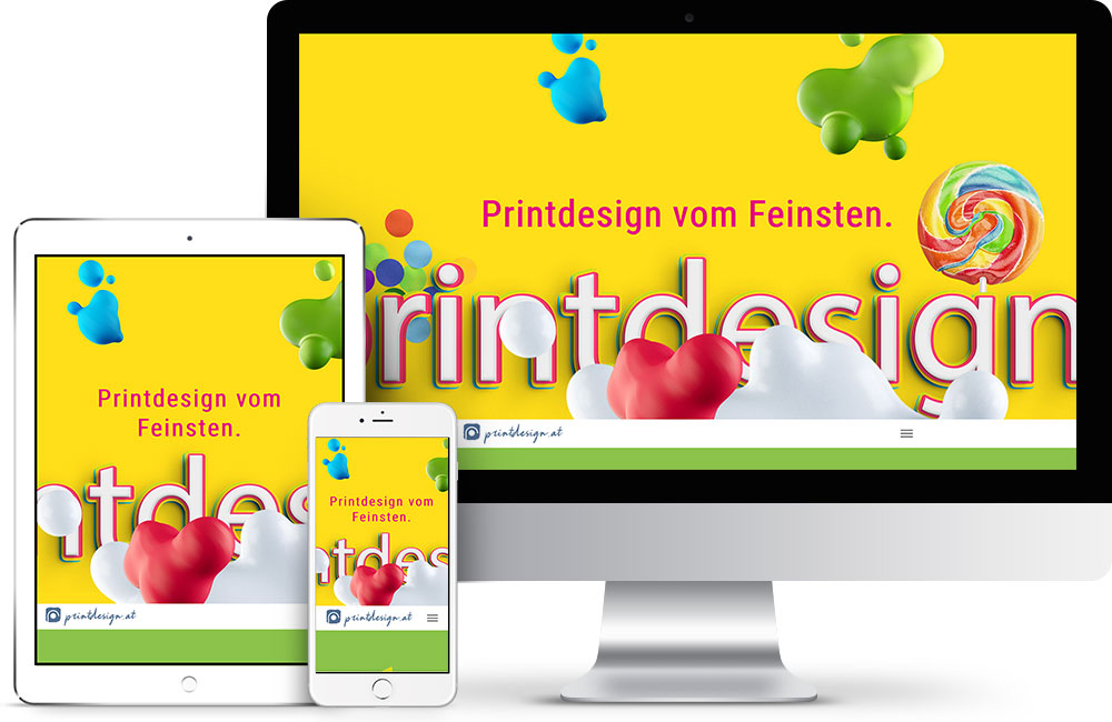 printdesign.at – Pixelflüsterer professionelles Web Design nahe Wien
