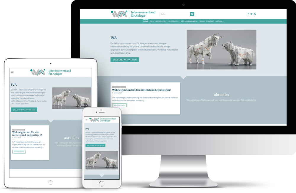 IVA Webdesign von Pixelflüsterer